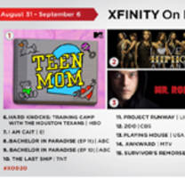 Xfinity On Demand Top 20 Tv For The Week Sept Nou Bad