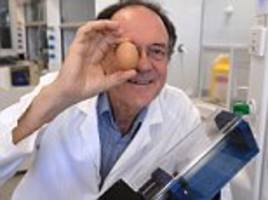 ig nobel prize awarded to professor colin raston for creating way to unboil an egg