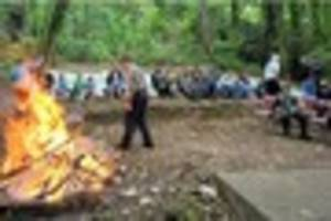 stapenhill scouts celebrate 60 years of campfires and rope-making