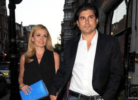 katherine jenkins announces her first child's birth