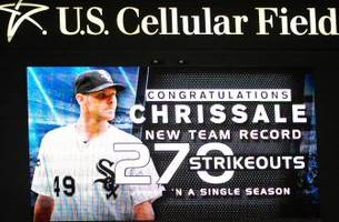 Chris Sale breaks 107-year-old White Sox record
