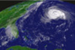 Monster superstorm that battered The Bahamas with 130mph winds...
