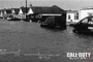 Call of Duty makers criticised for using flood pictures of Rhyl...