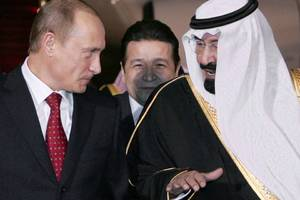 is russia plotting to bring down opec?