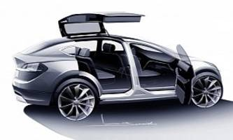 tesla model y crossover will have falcon doors, deleted musk tweet confirms
