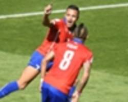 Arsenal star Alexis and Bayern Munich's Vidal could face Brazil