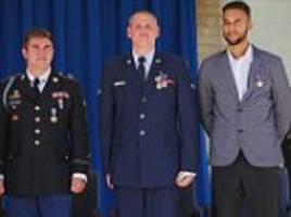 French train attack hero Spencer Stone STABBED in Sacramento