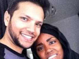 The unlikely star of The Great British Bake Off: Twitter in a frenzy over winner Nadiya's 'absolute dreamboat' HUSBAND