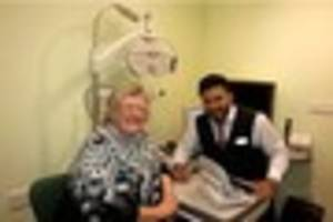 Walsall pensioners serious eye condition discovered during...