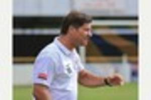 Witham Town boss Kimble turns focus to climbing table after cup...