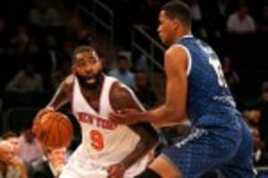 Why Kyle O'Quinn felt right at home in his strong Knicks debut