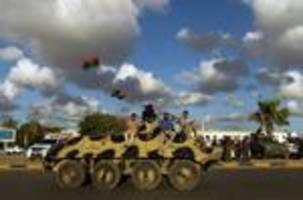 US, European leaders urge Libya rivals to sign peace deal