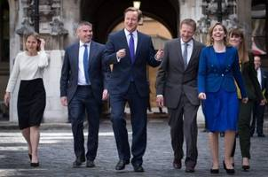 Seven Eurosceptic Conservative MPs form a band to compete in Eurovision in protest against the EU