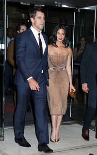 aaron rodgers talks relationship with olivia munn, says she's very supportive
