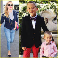 Reese Witherspoon Has Been Posting Cute Pics of Her Sons!