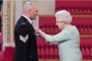 plymouth police officer is honoured by the queen