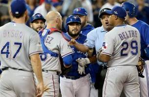 rangers not happy with the way things ended in toronto
