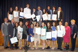 hispanic students from northport, john glenn honored for academic excellence