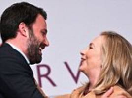 ben affleck's charity had hillary clinton private email but chris stevens didn't