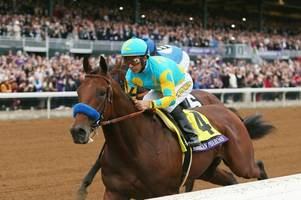 triple crown hero pharoah bows out in classic style