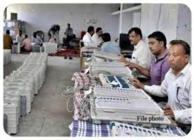 Image result for counting votes indian awaaz