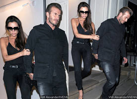 what does victoria beckham say of her wet crotch pictures at lfw closing party?