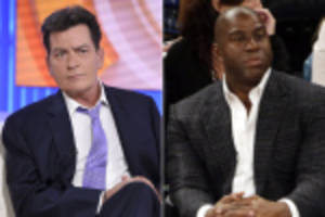 magic johnson/charlie sheen hypocrisy as sports common sense gives up
