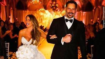 the not-so-secret wedding of sofia vergara, joe manganiello