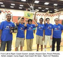 Trumbull Boys Sweep Away Awards at FLL Robotics Competition