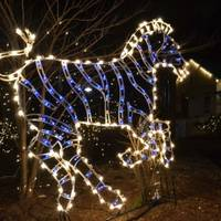In West Orange: Free Holiday Lights Return To Turtle Back Zoo For 2015