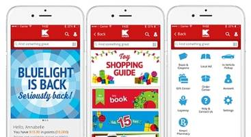 Oh What Fun! Kmart's Mobile App Adds Bluelight Special Alerts, Layaway and Exclusive Offers Just in Time for the Holidays