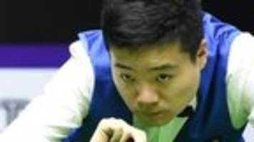 China's Ding beaten by amateur Duffy