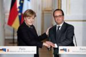 Hollande urges Germany to do more in IS fight
