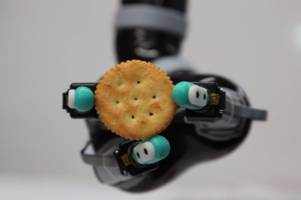 This robotic prosthetic hand knows exactly how hard to grab an egg without crushing it