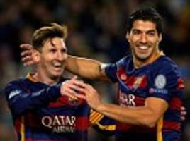 barcelona look unstoppable in europe but bayern munich boss pep guardiola could haunt former side... it is the champions league final everyone wants to see