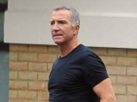 Graeme Souness cuts healthy figure as the Liverpool legend is pictured for first time since minor heart procedure