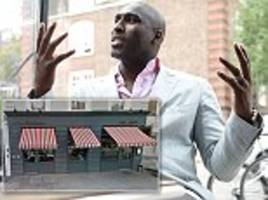 sol campbell calls out waiter for poor service on twitter... twitter bites back