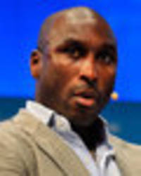 angry twitter users slate sol campbell over cafe complaint... and make arsenal move jibes!