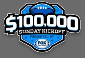 Set your lineup and win big with DraftKings' Sunday Kickoff Contest!