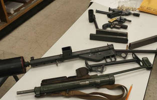 Homeless Man's Machine Guns Get Him Arrested By Police