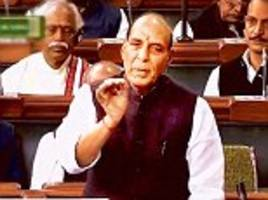 'This must stop!' Rajnath Singh blasts Congress for misusing the word 'secularism'