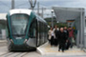 nottingham tram delays caused by power outage