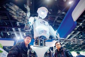 Anti-terror robots debut in China