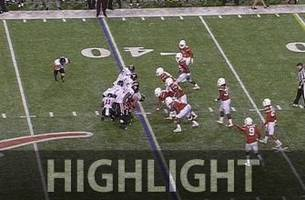 Insane fumblerooskie play wins the game for Texas Tech - 2015 College Football Highlights