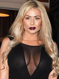 nicola mclean suffers major wardrobe malfunction as she goes braless in see-through top