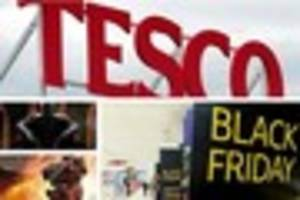 black friday blunder by tesco leaves shoppers fuming