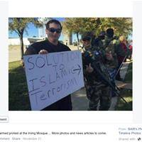 Group Posts Addresses of 'Muslim Sympathizers'