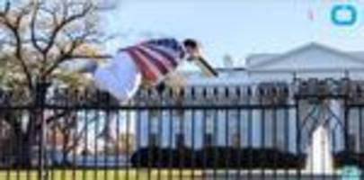 Man who jumped over White House fence left a suicide note behind