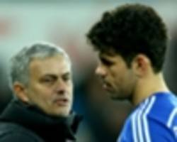 Costa must read the game better - Mourinho