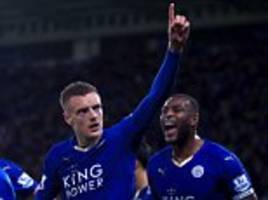 Leicester City 1-1 Manchester United: Jamie Vardy breaks Premier League record by scoring in eleventh consecutive game as Foxes draw against Red Devils